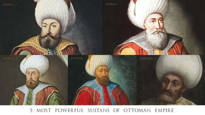 Sultans of Ottoman Empire