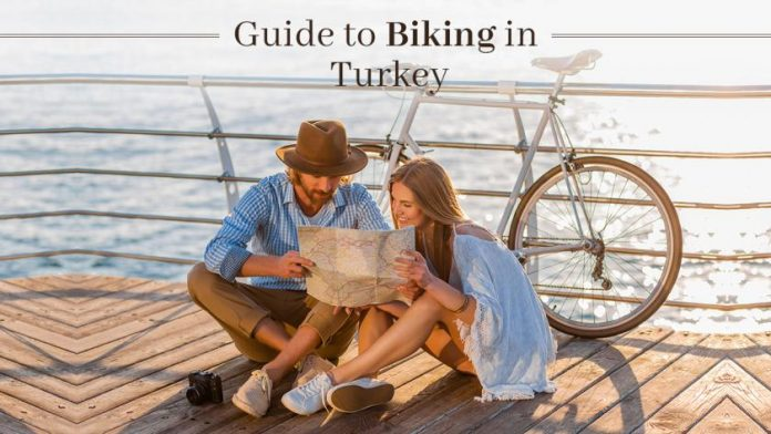 Biking in Turkey