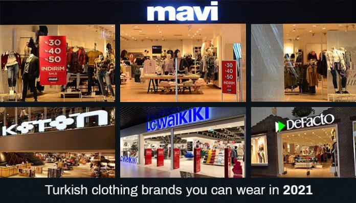 turkish clothing brands 2021
