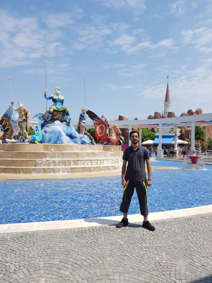 Faizan Ul Haq in Antalya