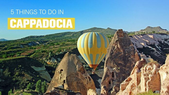 Things o do in cappadocia